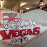 Arrive hungry, big delicious portions and a heap of vegas decor