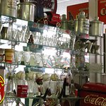 Soda shoppe glassware
