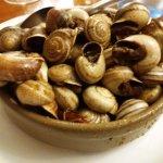 ración de caracoles