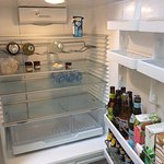 Blue Peter - lightly stocked fridge