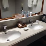 use the wonderful public bath, but the ensuite is pretty terrific too!