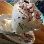 unicorn hot chocolate !!☺