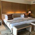 Double queen beds at Ocean View Conrad Suite