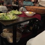 Caesar Salad made fresh table side