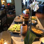 Club Room lunch spread....only partial....lots more food stations.