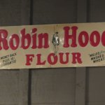 Antique sign wall art