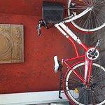 Dat bike and da menu