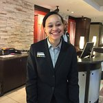 One of the Friendly hotel staff who went out of her way to help me