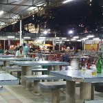 Food court next to Hotel Sentral