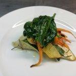 baccala'croccante con verdure
