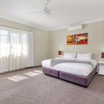 2 Bedroom Apartment - master bedroom with king bed
