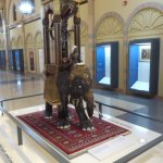 """An amazing waterpdriven """"elephant"""" clock - one of many interesting mechanical devices in the mus"""