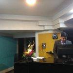 Front desk at Sayaji Hotel Vadodara
