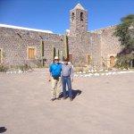 Misión de Santa rosalia de mulege una misión muy bonita y muy bien conservada solo que por dentr