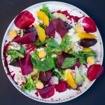 Marinated Beetroot Salad