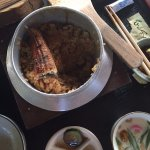 Unagi kamameshi, the star of the day - delicious to the last grain of rice!