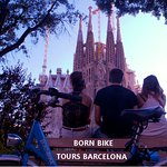 Born Bike Tours Barcelona organizes Private Tours for groups the best way to visit Barcelona by