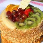 Mandel fri frukttårta