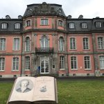 Door dit enorme boek viel ons oog op het Goethe-museum