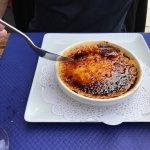 Crème brûlée ( dessert du Menu)