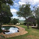 Pool and pool shack