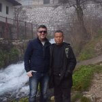 Adnan our guide and my dad
