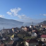 On top of a fortress in Travnik