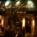 Exterior Cafe D'Etoile...great patio.