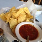 Starter chips and salsa