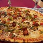 Pizza méditerranée