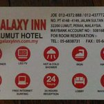 Photo de Galaxy Inn