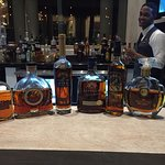 Segio's and Roberto's Barcelo and Brugal Rum Tasting at Blue Restaurant