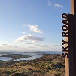 The view from the Sky Road above Clifden.