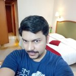 a selfie in room.. worth a mention is the cleanliness and warm staff