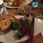 Beautiful sirloin steak!