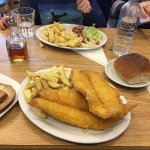 Double fish supper. amazing