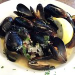Mussels are not as good as they look, but dip up that broth with that wonderful bread!