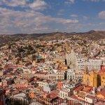Vista panoramica Guanajuato.