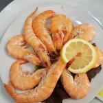 Crevettes roses (mayonnaise maison a part)