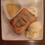 Strudel and Ice Cream