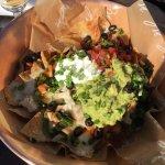 nachos poolside