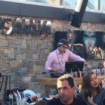 DJ Chris Noble at the Lisa Alm - great house music