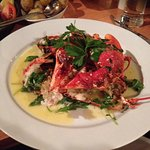 Our special order of Lobster, simply cooked with butter and fresh herbs,