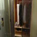 This was actually a big wardrobe compared with other rooms I saw!