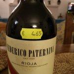 Supermarket wine - Euro 4,65
