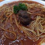 Espaguettis con Bolas de Carne
