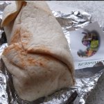Fresh, tasty, Burrito from Acapulco