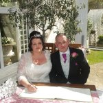 Debbie and Colin 23/4/2016 an absolutely wonderful day for us all, thanks to Natalie and her tea