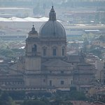 Telephoto lens of the Santa Maria degli Angeli from our window