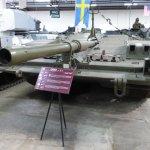 Swedish Stridsvagn 103 'S-Tank'